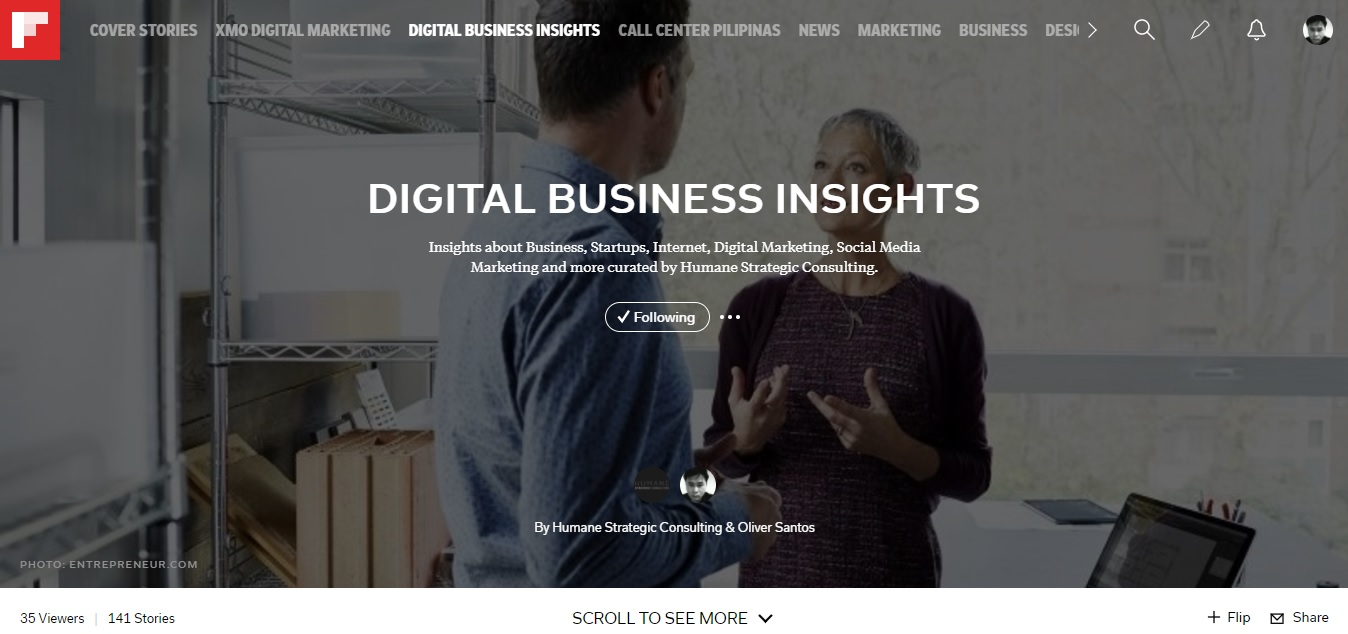 Flipboard Magazine: Digital Business Insights